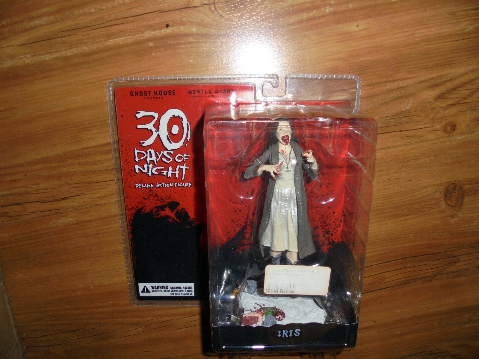 30 tage abend  iris  deluxe - actionfigur sanfter riese 2009