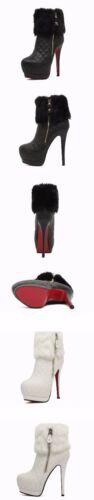 Aiguilles 9326 14 Basses Élégant Noir Chaussures Talons Cuir Bottes Comme Cm gatSqww