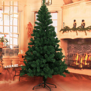 Image Is Loading 4ft 5ft 6ft Christmas Tree Decorations High Quality