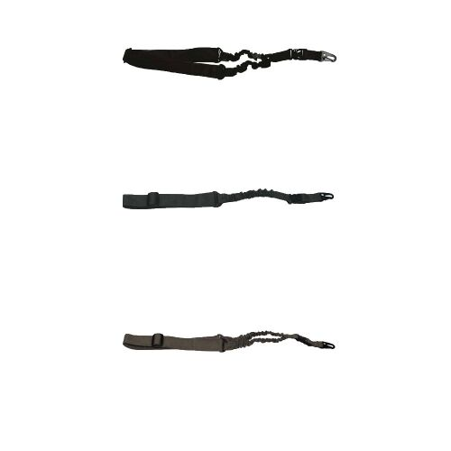 Bungee-Gewehrgurt Befestigung mit Karabiner in verschiedenen Farben