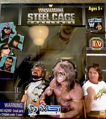 WWE Wrestlemania Steel Cage Plug /& Play Joystick TV Arcade Video Game New!