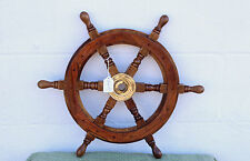 Nautical Wooden Ship's Wheel/ Decorative Wall Decor