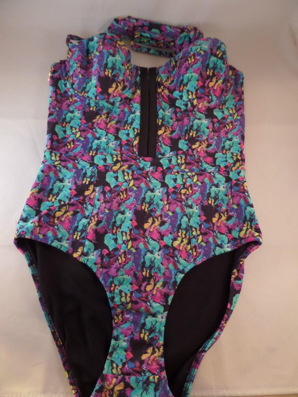 NWT Playful Promises Exotic Parred 1pc Swimsuit  size 6(UK)