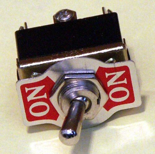 Toggle Switch Pack of 8 DPDT On-On 15 Amp K202-8