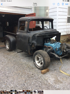 Hard To Get  1956 Ford F100  BBW Hot Rod Project