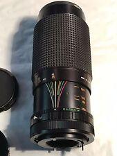 Sears Canon Zoom Photo Lens Model Mod. No. 202 1:4.0 f=80-200mm 7370000 Korea