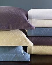 SFERRA ASTI Queen BLANKET & SHAMS Ice Blue Italy Egyptian Cotton Coverlet $935