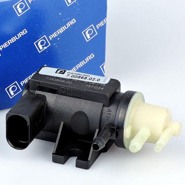 PIERBURG 7.00868.02.0 Druckwandler Magnetventil Turbolader für VW 1.9 2.0 TDI