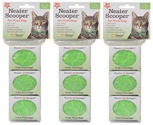 Neater-Scooper-Refill-Bags-135-Count-Bulk-Pack-Cat-Litter-Waste-Bag