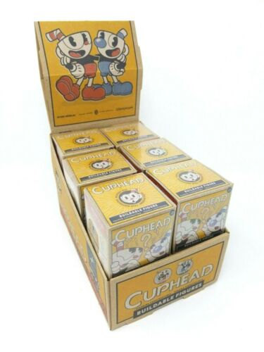 McFarlane Toys Cuphead Mystery Blind Box Buildable Figures Lot of 12