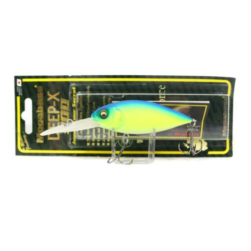 4380 Megabass Deep X 300 Floating Crank Bait Lure Blue Back Mat Chart