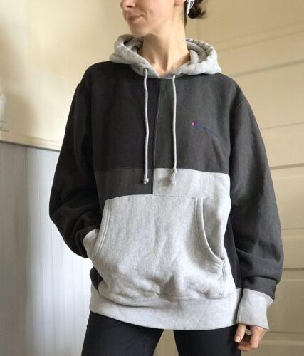Vintage Champion Reverse Weave Hoodie Sweatshirt S