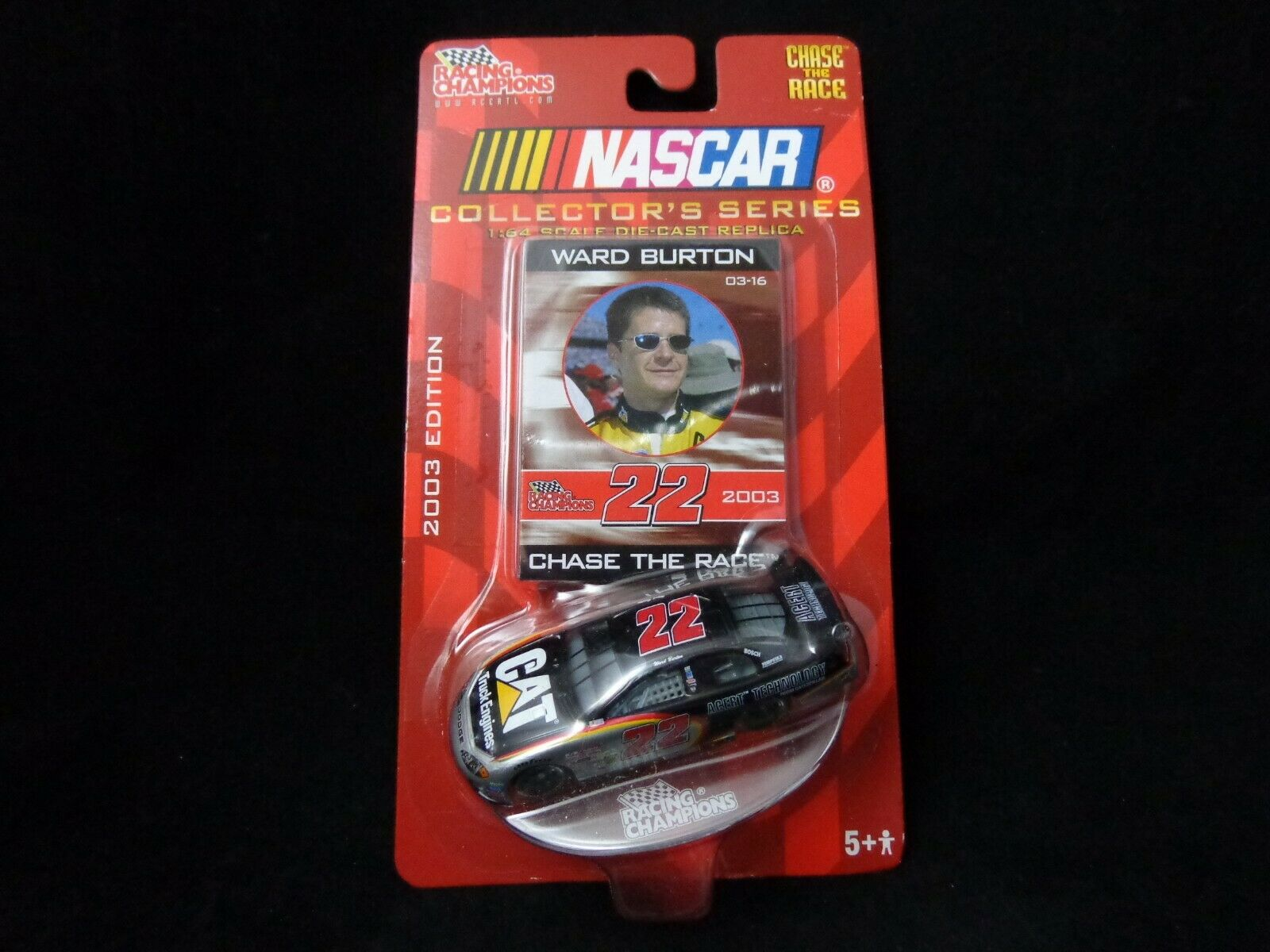 Racing Champions Collectors Series Chase The Race Ward Burton Intrepid R T