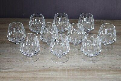WohltäTig 10x Glas Cognac Gläser Schwenker Bleikristall Geschliffen Bar Tasting Vp20-4 Der Preis Bleibt Stabil