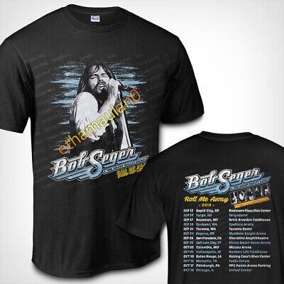 Bob Seger Roll me away Final Tour new date 2019 Black t shirt metallica Kiss