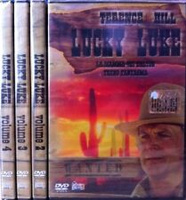 Lotto Stock 4 DVD **LUCKY LUKE** serie completa con Terence Hill Nuovo Sigillato