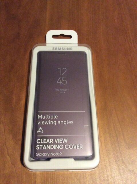 clear view standing cover samsung note 9