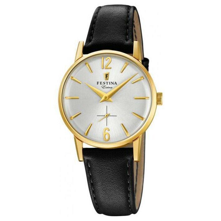 Reloj Festina Extra Mujer F20255/1 caja acero dorado y esfera gris