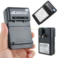 Universal Wall Travel Charger For Cell Phone Pda Camera Li-ion Battery With Usb