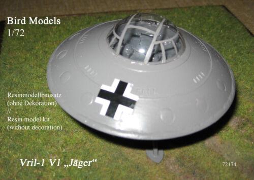 resin kit Vril-1 V-1 Jäger Flugscheibe    1//72 Bird Models Resinbausatz