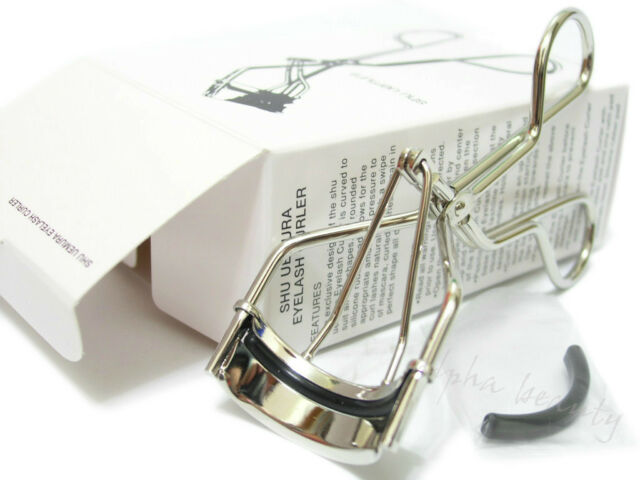 Shu Uemura Japan Makeup Eyelash Curler + 1 extra Rubber Replacement Pad Refill