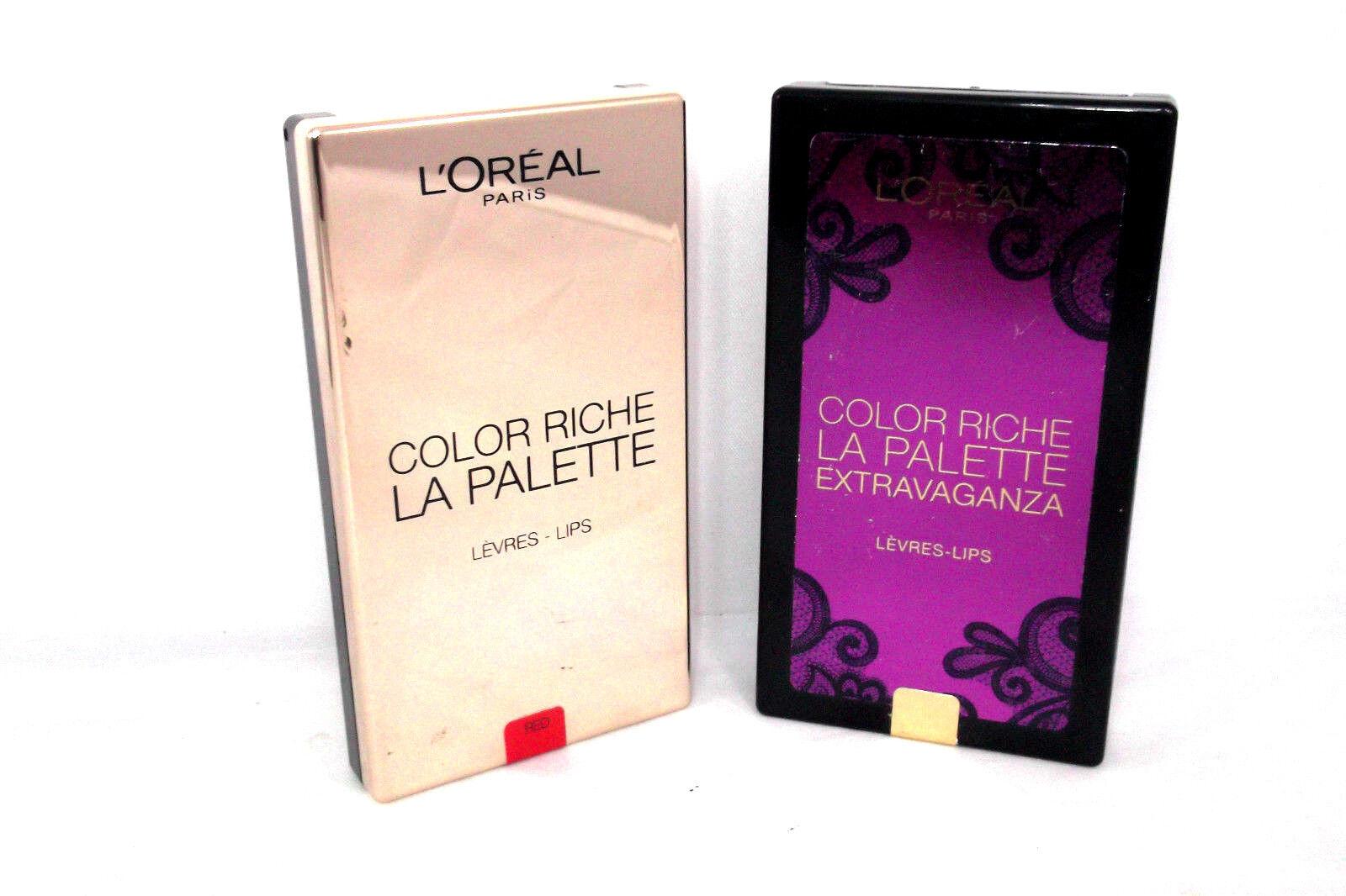 Loreal Color Riche La Palette Lips 6x1g Shade Red