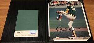 Rollie-Fingers-autographed-signed-auto-Oakland-A-039-s-8x10-photo-UDA-Upper-Deck-COA