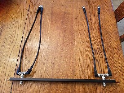 TNC Remote Antenna Rack Cables Male to Female for EV Antenna Kits Etc.