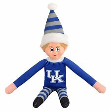 Kentucky Wildcats Plush Christmas Elf -NCAA Doll On The Shelf Stuffed Toy