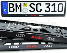 Audi R8 Audi TT Audi Allroad Standart License Frames Plates UK NEW 2pcs.