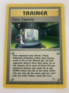 TIME CAPSULE 3 x Pokemon Card Neo Genesis 90//111 - NM//Mint rare