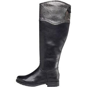 Womens Mylene Black 7 Bnib Taglia Boots Lotus wH8wxqCFZ