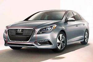 Image Is Loading 2016 2017 Sonata Hybrid Plug In Limited Front