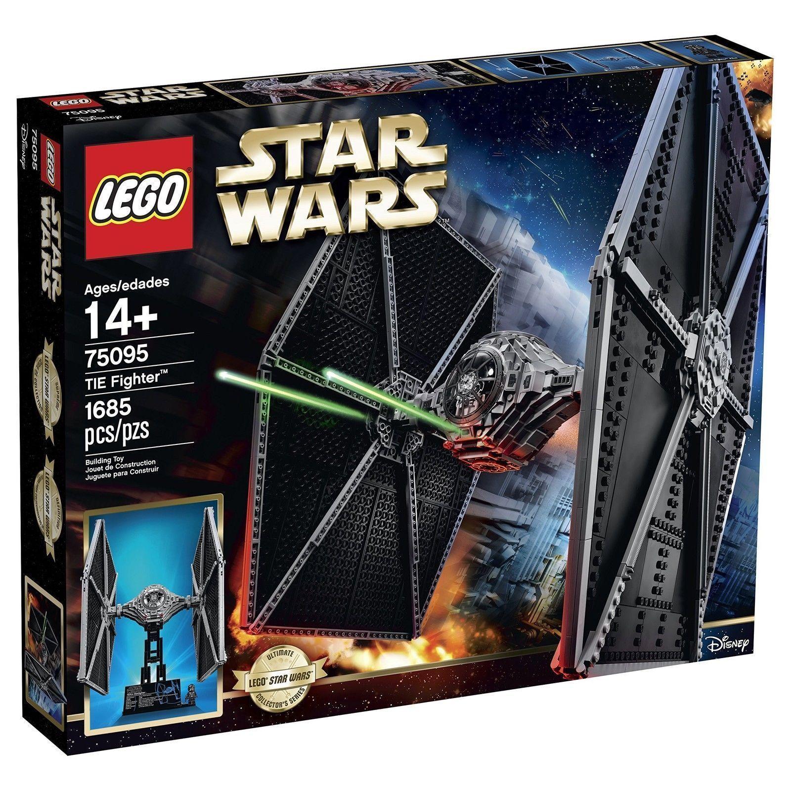 Lego Star Wars 75095 UCS Tie Fighter Kit de Construcción  nuevo  Utimate Collectors Series