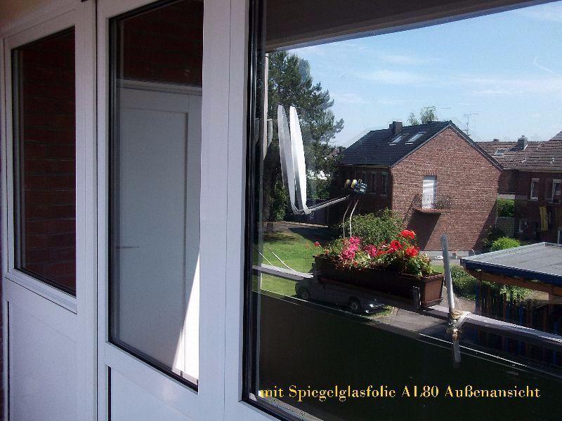 m²  Spiegelfolie Fensterfolie UV Sonnenschutz Sichtschutzfolie Spionfolie    Neuer Markt