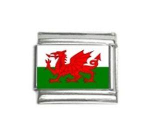 Italian-Charms-Charm-Flags-Wales-Welsh-Flag