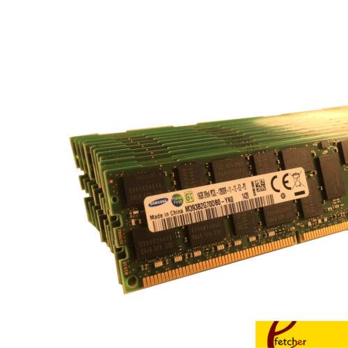 PC3-12800 8x16GB DELL POWEREDGE C2100 C6100 M610 M710 R410 M420 R515 MEMORY Ram
