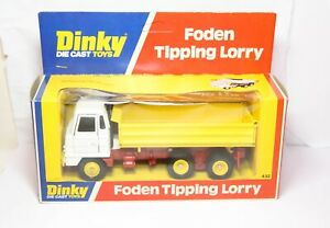 Dinky-432-Foden-Tipping-Lorry-In-Its-Original-Box-Near-Mint-Vintage-Ex-Shop