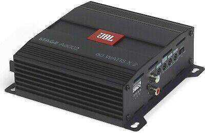"JBL Stage 1200B 1000 W 12/"" Sealed Subwoofer Sub Box Wire Kit A6002 Amplifier"