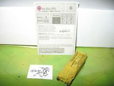 WOTC Axis /& Allies Miniatures North Africa 42//60 Sd Kfz 251