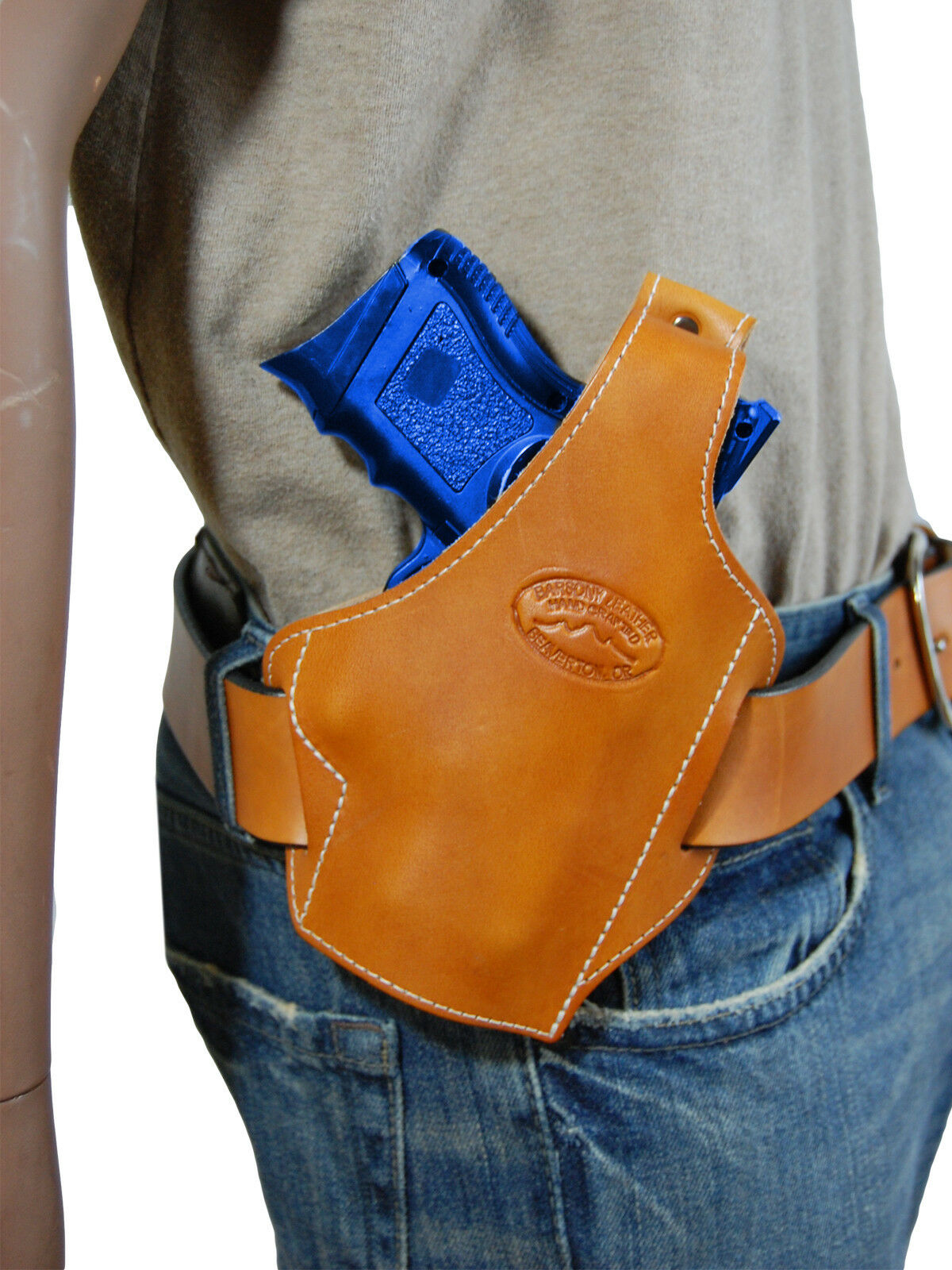 New Holster Barsony Tan Leder Pancake Gun Holster New for Astra Beretta Compact 9mm 40 45 a4b4e2
