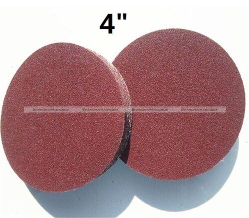 environ 10.16 cm 100 mm Grit 60 To 1200 SANDER Disque Ponçage Polissage Pad papier de verre S3 50Pcs 4 in