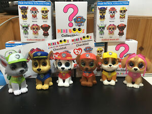 W-F-L Ty Mini Boos Paw Patrol Collectible Figures 2in Beanie Boos ... 88a8347fd3f