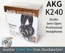 AKG Acoustics K240 Studio Semi-Open Professional Headphones - New in Sealed Box