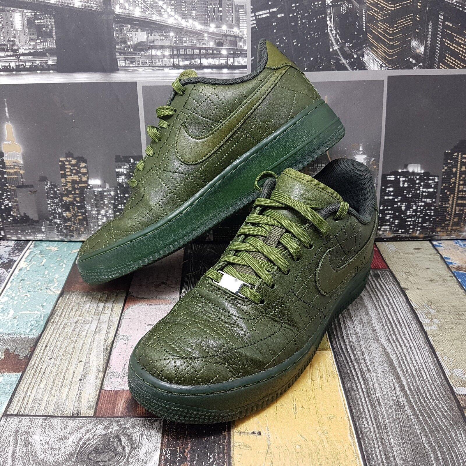 Para mujer Nike Air Force 1 07 07 07 FW QS London Zapatillas Talla 5 Khaki Cuero EU 38.5  diseñador en linea
