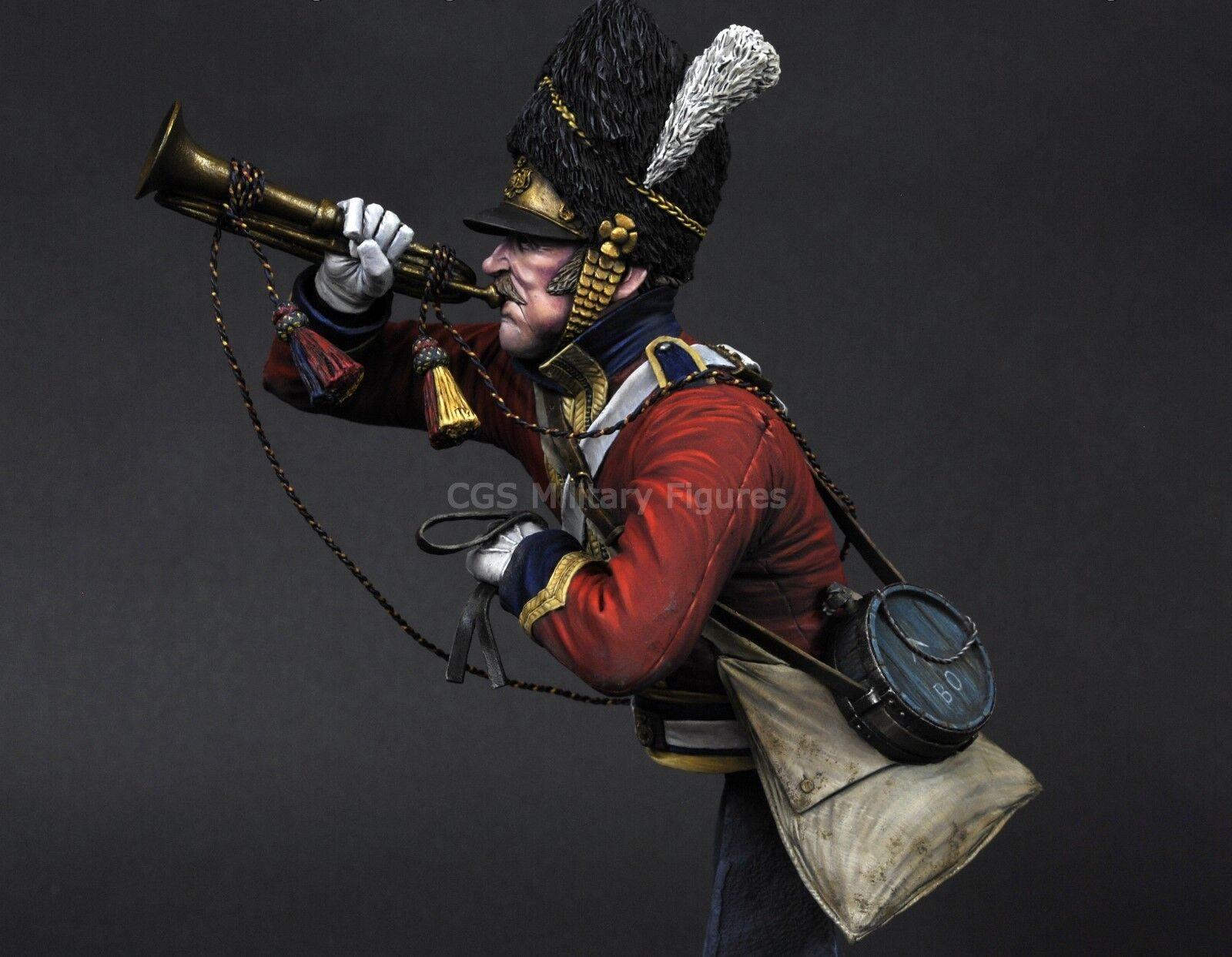CGS Trumpeter Scots Greys Waterloo 1815 1 9th Bust Unpainted kit CARL REID