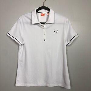 Puma-Women-039-s-Size-XL-Cool-Cell-Polo-Shirt-Short-Sleeve-White-NWT