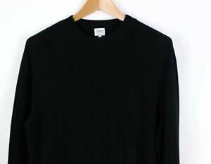 ARMANI-COLLEZIONI-Men-Crew-Neck-Long-Jumper-Sweater-Cardigan-Size-56-MZ247