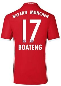 Trikot-Adidas-FC-Bayern-2016-2017-Home-Boateng-17-128-bis-3XL-FCB