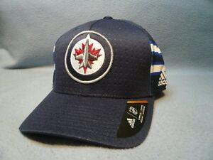 911f485bf4 Adidas Winnepeg Jets Structured Flex Small/Medium BRAND NEW hat cap ...